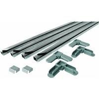 Prime-Line PL 7804 Screen Frame Kit, 5/16 in. x 3/4 in. x 48 in., Aluminum, Mill Finish, Pack of 1 Kit