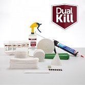 Dual Kill Bedbug Emergency Response Kit, inludes Twin XL Fitted Box Spring & Mattress Wrap - Campus Kit Bed