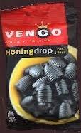 Venco Honing (Honey) Licorice 5.9 Oz (Pack of 4)