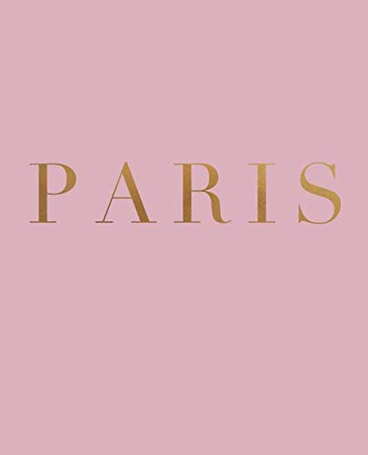 Paris: A decorative book for coffee tables, bookshelves and interior design styling | Stack deco books together to create a custom look (Cities of the World in Blush)