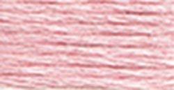 DMC Bulk Buy Thread 6-Strand Embroidery Cotton 8.7 Yards Very Light Dusty Rose Lighter Than 3354 117-151 (12-Pack)