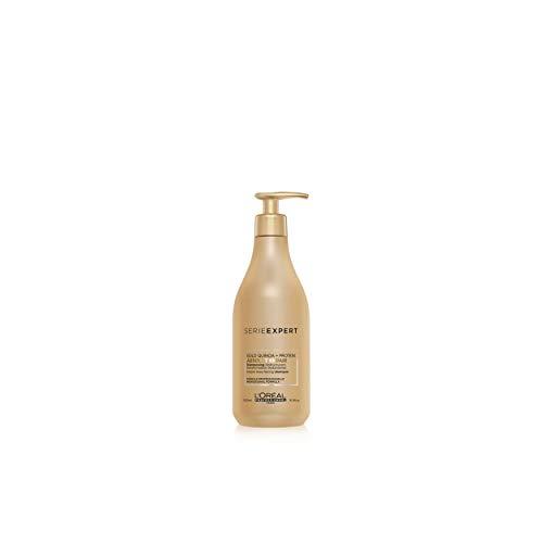 L'Oreal Serie Expert Gold Quinoa + Protein Absolut Repair Instant Resurfacing Shampoo 16.9 oz