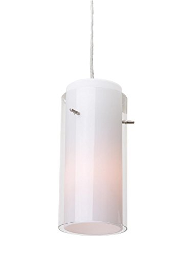Brushed Stainless Steel Cylinder Pendant Light Shade in US - 9