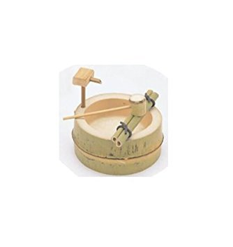 - Bamboo Japanese Ornament Mini Water Ladel Tsukubai Fountain From Japan (4.9 X 2.3 X 4.7 Inch)