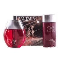 Carlos Santana 3 Piece Gift Set for Men (Cologne Spray, Smooth Deodorant, Music CD) by Carlos - Santana Mall