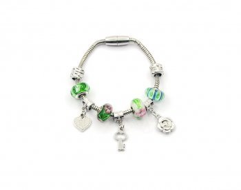 076975fb207ea Design amis bracelet bijoux bijou Femme Cadeau Idée Cadeau Bracelet Bijoux  Bracelet pour femme Silver Flowers