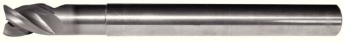 WIDIA Hanita 5AN319017B AluSurf 5AN3 HP Aluminum End Mill, 0.03'' Radius, 1'' LOC, 0.75'' Cutting Dia, Carbide, Uncoated, RH Cut, 3-Flute