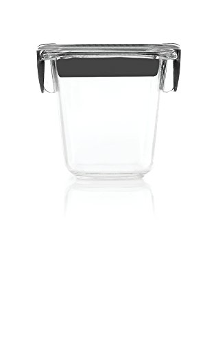 Rubbermaid Brilliance Food Storage Container, Mini, 0.5 Cup, Clear, 2 Pack