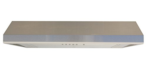 windster hood ws5842ss residential stainless steel under cabinet range hood 42inch