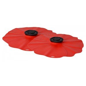 Charles Viancin Poppy Silicone Drink Cover - Poppy (Covers Drink Poppy)