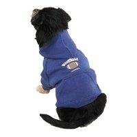 Casual Dog Couch (Casual Canine Hooded Sweatshirt Xsm Football)
