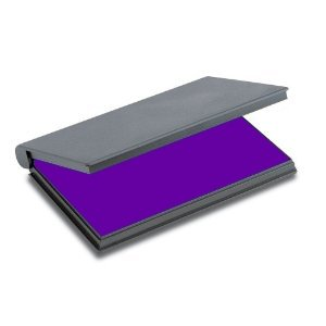 (Shiny Stamp Pad with Purple Ink)