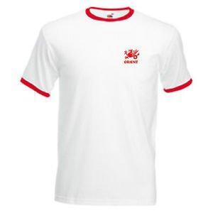 Camiseta Hombre Leyton Orient FC Estilo Retro Todas Las Tallas
