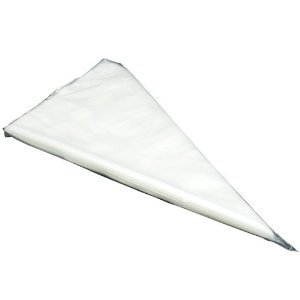 Disposable Clear Pastry Bags - 20 Inch - 1 package, 100 count