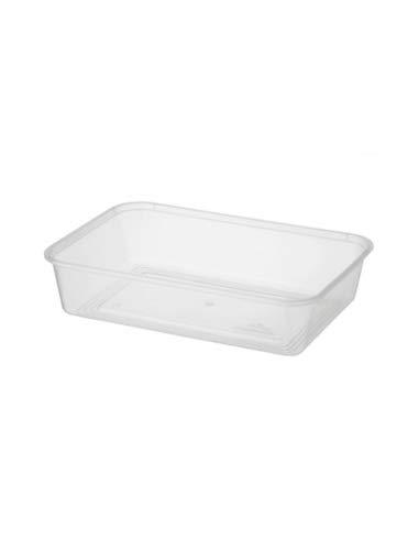 Rectangular Plastic Container 500ml x 100 ()