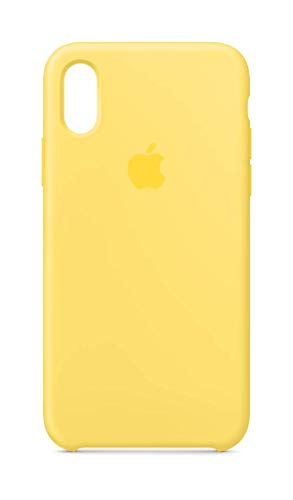 (Apple Silicone Case (for iPhone Xs) - Canary)