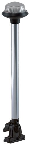 Perko Glare Reduced Design (Perko 1637DP0CHR Reduced Glare Vertical Mount Marine Pole Light)
