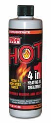 FPPF Chemical Co 00161 16 OZ HOT 4-in-1 Heating Oil Treatment (2 Bottles) by FPPF Chemical Co