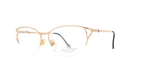 etienne-aigner-208-30-gold-authentic-women-vintage-eyeglasses-frame