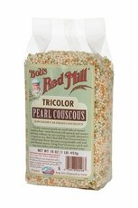 Couscous, Pearl, Tricolor , 16 oz (pack of 4 ) ( Value Bulk Multi-pack) by Bob's Red Mill