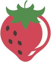Simple Yummy Healthy Fruit Vegan Cartoon Emoji Vinyl Decal Sticker (4