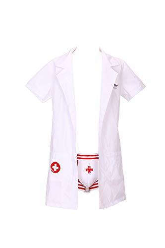 Sexy Private Doctors Costumes Set for Men]()