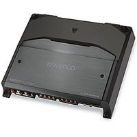 Kenwood KAC-8404 600-Watt Max Power Stereo Four-Channel Power Amplifier with Variable LPF/HPF -