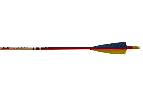 Rose City Archery Cedar Hunter Elite Arrows with 5