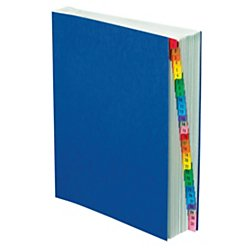 Pendaflex Expanding Desk File, Daily (1–31), Letter Size, Blue, Each (11013)