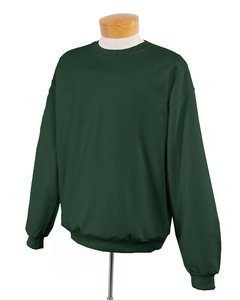 Jerzees 50/50 Youth Crewneck Sweatshirt, L, Forest Green (562b Sweatshirt Jerzees)