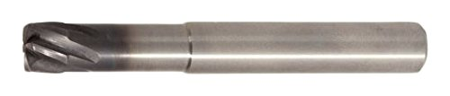WIDIA Hanita 70N710004MT X-Feed 70N7 HP Hard Material End Mill, 10 mm Cutting Dia, Carbide, AlTiN Coating, RH Cut, Straight Shank, 6-Flute Review