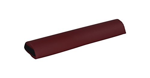 Heaven Massage Half Round Bolster, 3 Inch X 26 Inch (Burgundy) by Heaven Massage