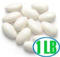 Jordan Almonds- WHITE 1 pound
