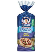Quaker Rice Cakes Rice Cakes White Cheddar - 12 Pack