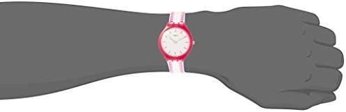 Swatch Skinpunch White Dial Ladies Watch SVOP102