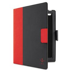 Belkin Keyboard Folio Case with Keyboard and Retina Display for Apple iPad 2: 2nd, 3rd, and 4th Generation (Red) by Belkin (Image #1)