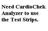 PTS Panel #1717 Test Strips Triglyceride Test (6 strips/box) for CardioChek PA or CardioChek ST by CardioChek (Image #1)