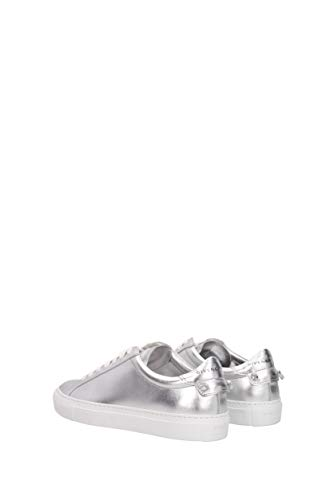 Uk In be0003e036 Di Donne argento Givenchy Pelle Urbana Sneakers Strada qF886T