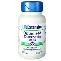 Optimized Quercetin, 60 vcaps by Life Extension (Pack of 4)