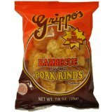 Grippo's BBQ Pork Rinds 2oz Bags - 24ct