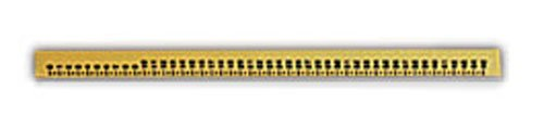 X-Ray Ruler Markers, Radiopaque - 45cm, Horizontal