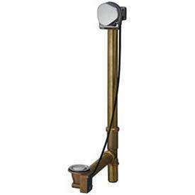Geberit 151.572.ID.1 Euro Turn Control Cascading Tub Filler, Brushed Nickel Finish, 9/16