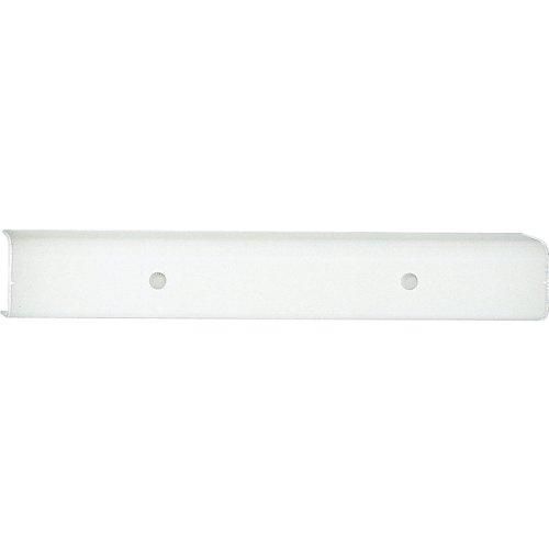 Progress Lighting P3110-30 4-Light Bath Bracket with White Glass Shades, White