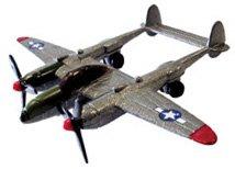 P-38 Lightning Model Airplane - 5