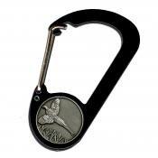 (Bison Design Wildlife Button Pheasant Carabiner)