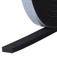 EPDM, 15mm x 3mm Dichtband EPDM einseitig selbstklebend 5m Rolle
