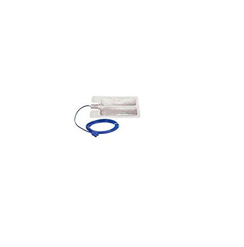 Bovie Medical ESRSC Aaron Electrosurgical Generator Disposable Solid Adult Return Electrode, 2.8 m Cable Solid (Pack of 50)