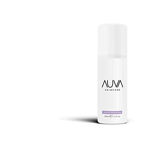 AUVA Youth Booster Cream with Hyaluronic Acid, Yeast Extract, Phytoceramides and Bioflavonoids (Best Inexpensive Anti Aging Cream)