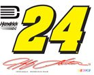 NASCAR JEFF GORDON OFFICIAL LOGO 4