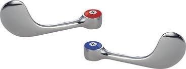 BK Resources BKF-WBH Wrist Blade Faucet Handles (Wrist Blade Handles)